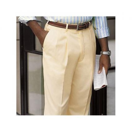 Italian Cotton yellow trousers
