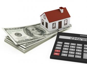House with money