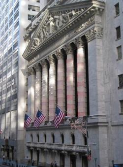 Image of the New York Stock Exchange building