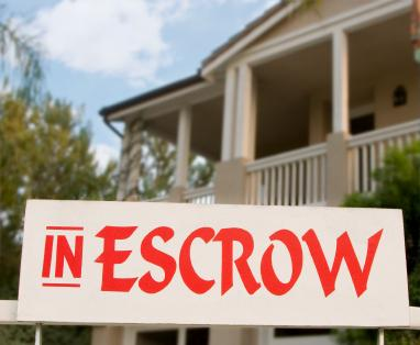 Home in escrow