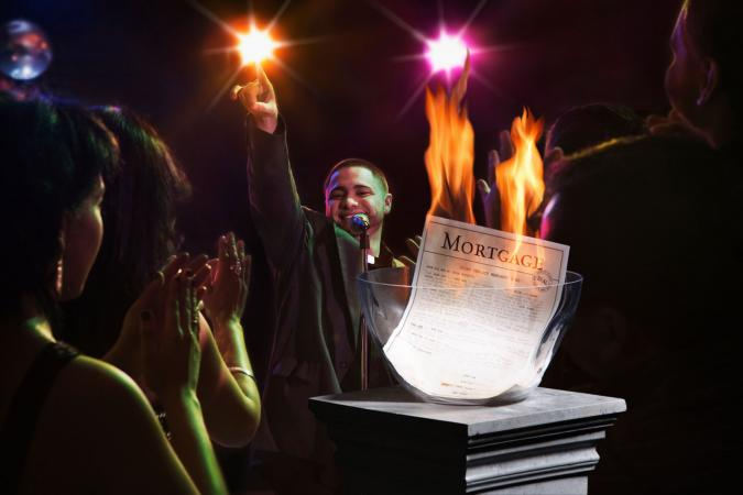 Mortgage Burning Celebration