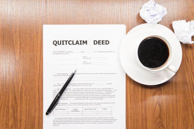 How to File a Quit Claim Deed | LoveToKnow