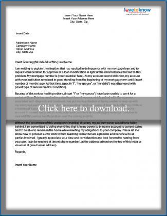 Harship Letter - Illness