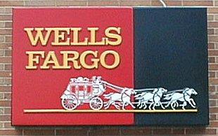 Photo of a Wells Fargo sign