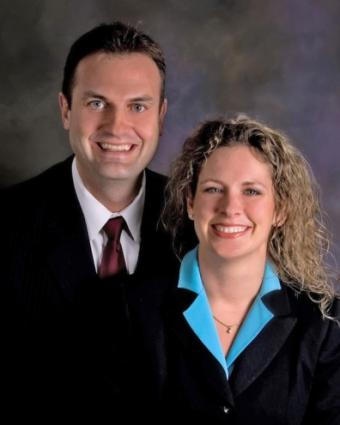 Jamie and Brian Frampton, mortgage brokers