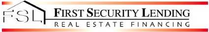 First Security Lending Logo