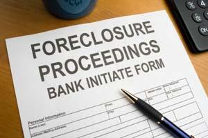 A foreclosure is a series of steps.