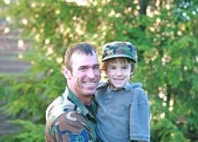 Airman and Child