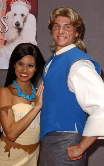 Characters from Disney Movie Pocahontas