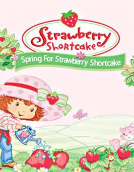 Spring for Strawberry Shortcake