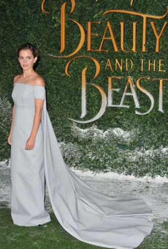Emma Watson attending Beauty and the Beast Event