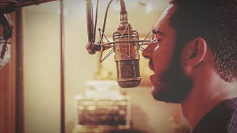 Voice Recording In Studio