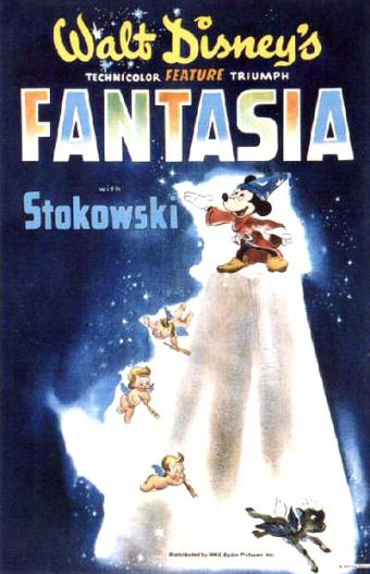 Disneys Fantasia movie poster