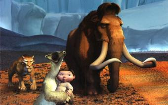 a scene from Ice Age