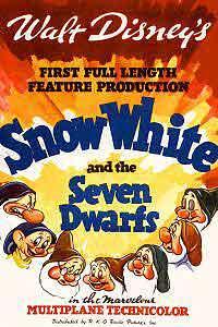 Disney's Snow White movie poster