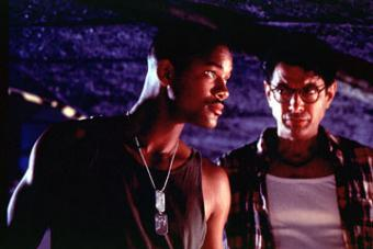 Jeff Goldblum and Will Smith in Independence Day