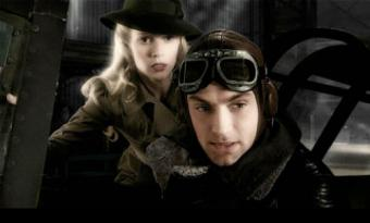 Jude Law and Gwyneth Paltrow in Sky Captain and the World of Tomorrow