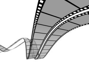 3D digital film strip