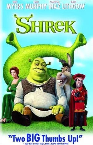 shrek movie characters on dvd