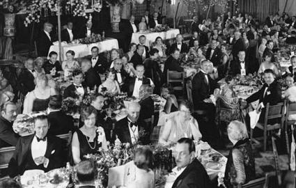 Photo of the first Academy Awards in 1928