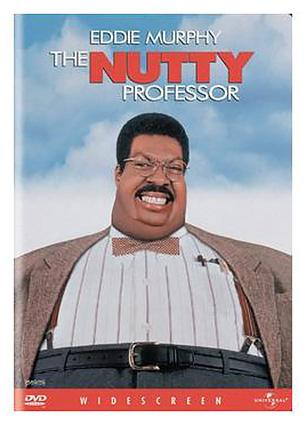 The Nutty Professor DVD cover from Newegg.com