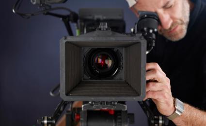 Filmmaker behind the camera