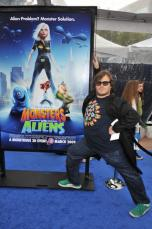Jack Black at Monsters v Aliens