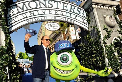 Monsters University World Premier