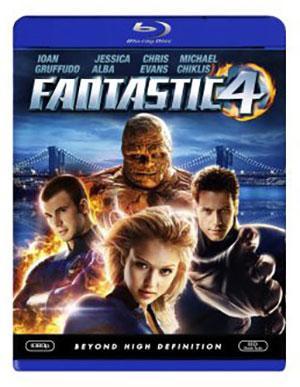 Fantactic 4 Blu-Ray