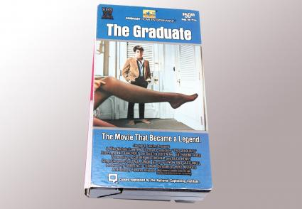 VHS video tape of The Graduate movie