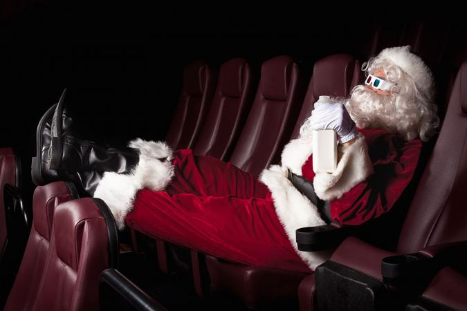 Santa's Day Off - At the Movies