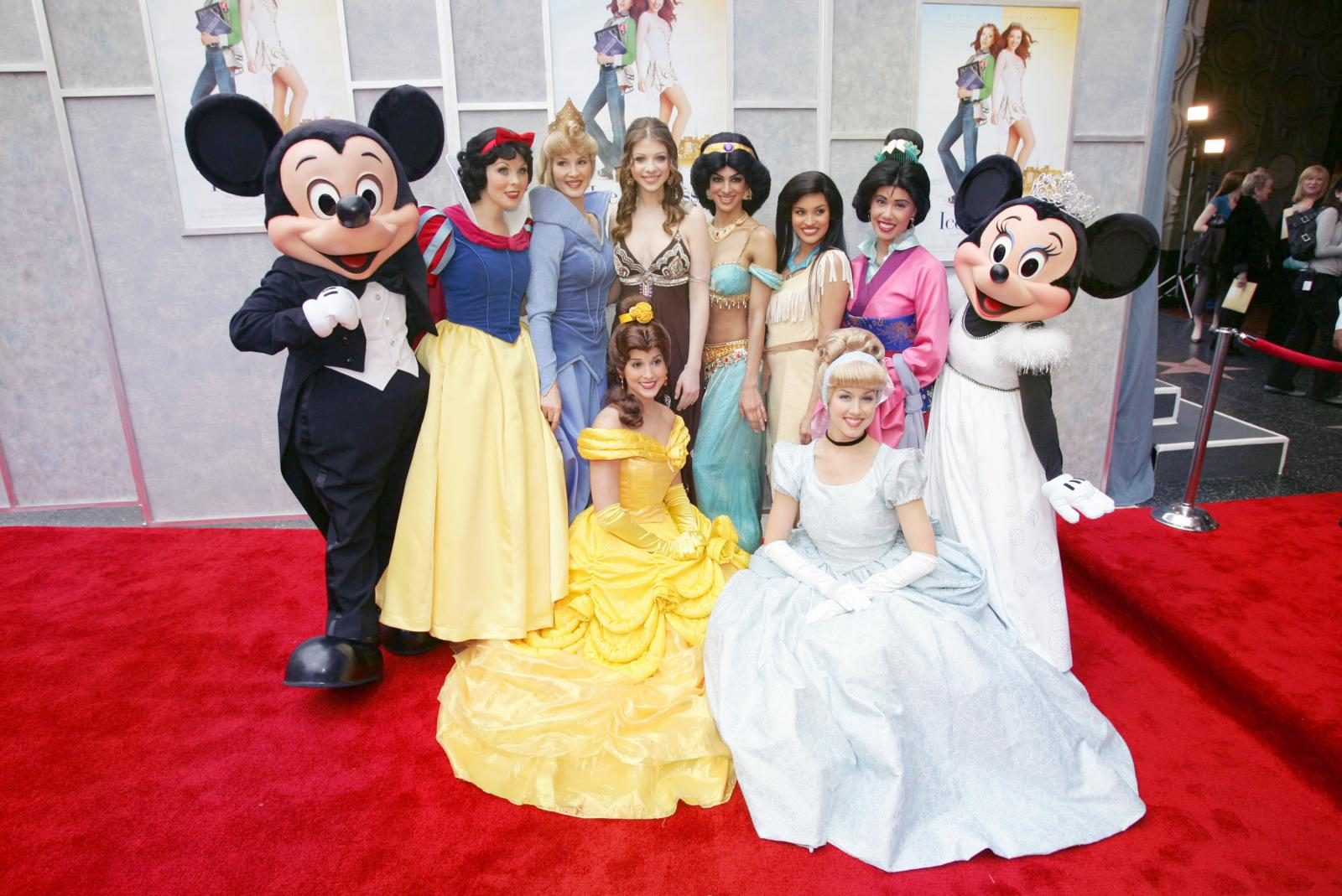 "Disney's Premiere Of The ""Ice Princess"""