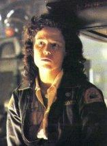 Sigourney Weaver is Warrant Officer Ripley in Alien