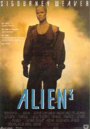 Aliens3 movie poster