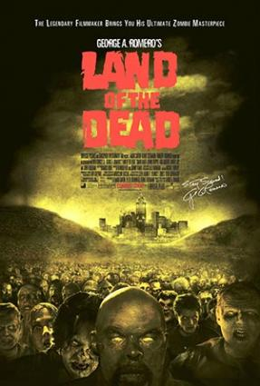 Land of the Dead movie poster