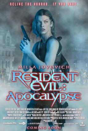 Resident Evil 2: Apocalypse movie poster