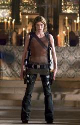Milla Jojovich in Resident Evil: Apocalypse