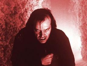 Jack Nicholson is creepy in The Shining