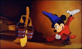 Mickey Mouse is the Sorcerer's Apprentice