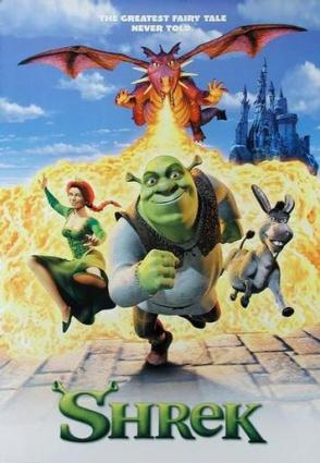 Shrek movie poster