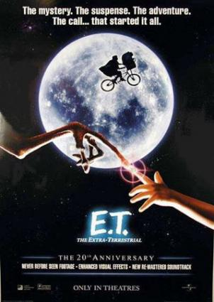 ET: The Extra-Terrestrial movie poster