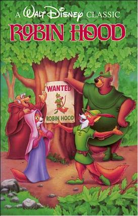 Disney's Robin Hood movie poster