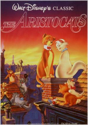 Disney's the Aristocats movie poster
