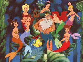 Scene from The Little Mermaid