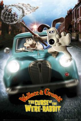 Wallace and Gromit:Curse of the Were-Rabbit movie poster