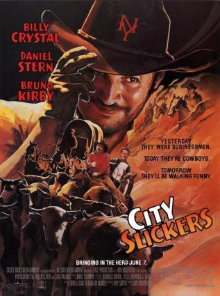 City Slickers movie poster