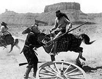 A stunt from Rio Grande