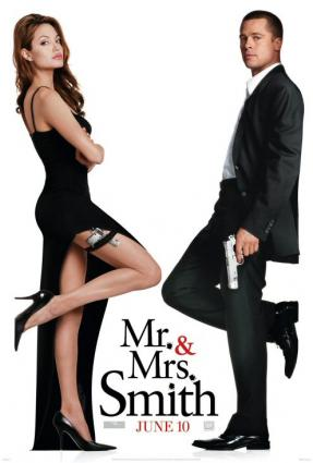 Mr. and Mrs. Smith poster