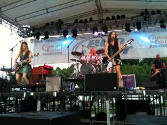 The Bangles at the Celebrate Fairfax! festival