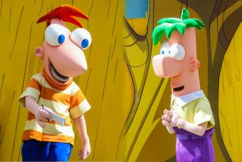 Disney Characters Phineas and Ferb